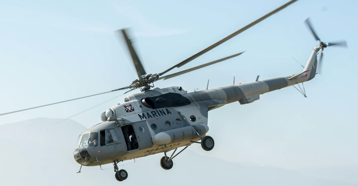 Mexico Mi-17 helicopter