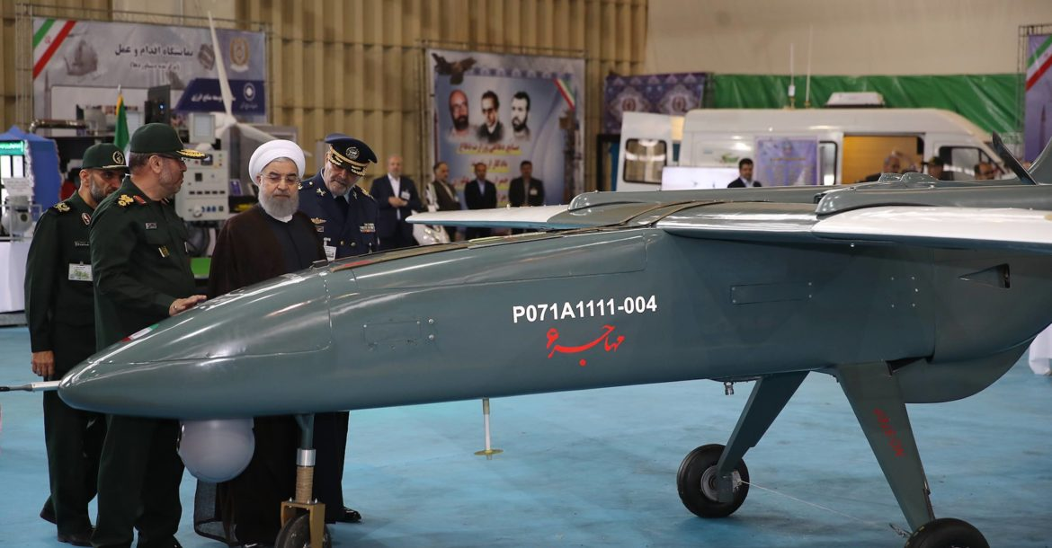 Iran's Mohajer 6 tactical and combat unmanned aerial vehicle