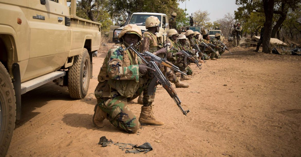 Niger soldiers