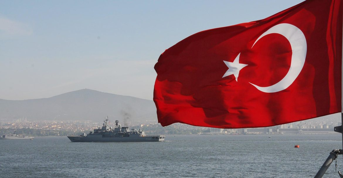 Turkish Naval Forces frigate Yavuz