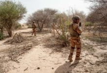 French soldiers in Mali