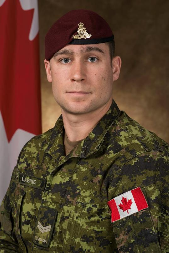 Canadian paratrooper killed, 3 others injured during