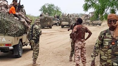 MNJTF operations near Baga, Nigeria