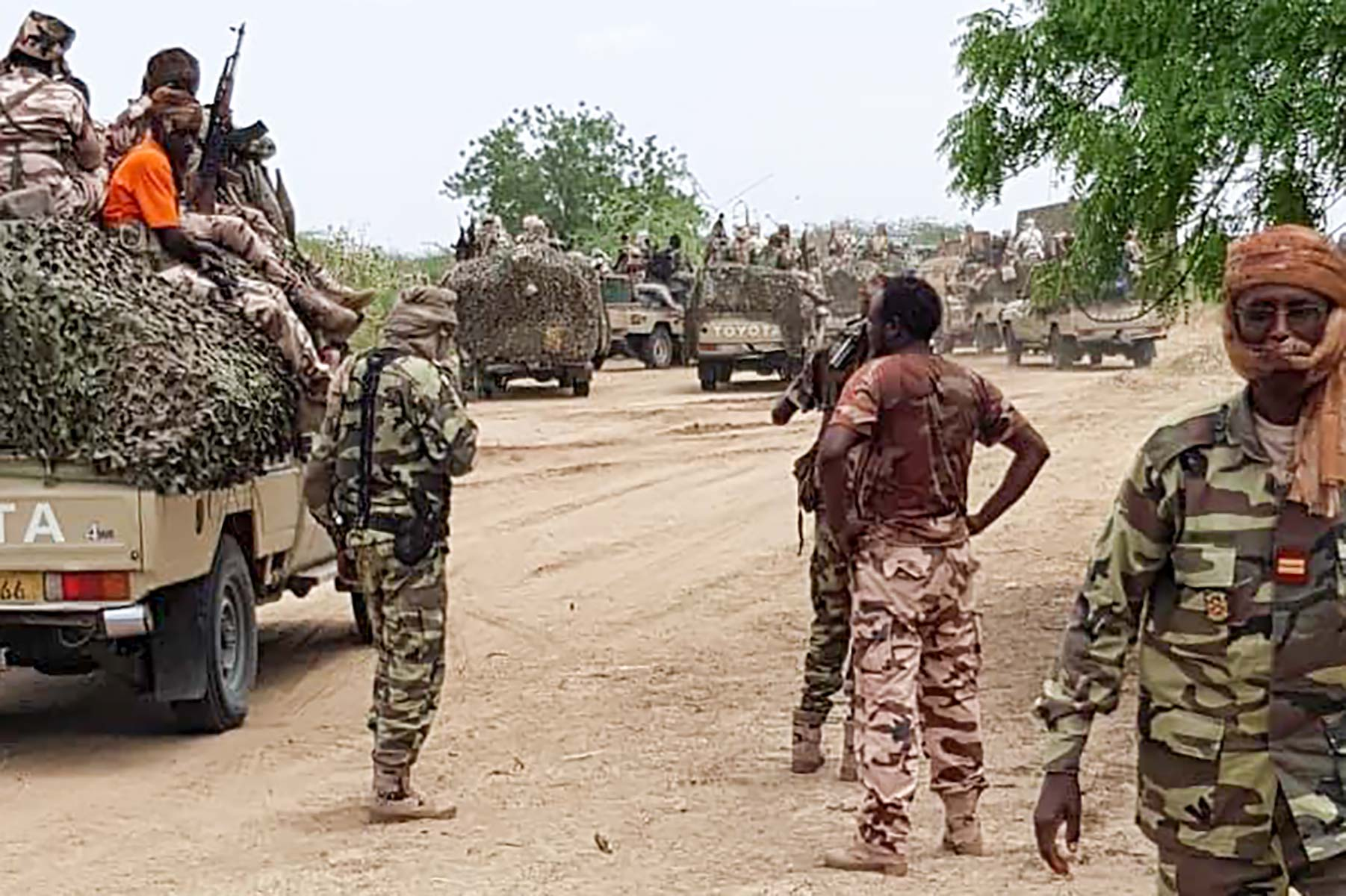 Chad troops leave Nigeria with Boko Haram mission 'finished'