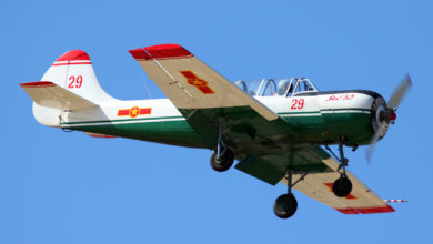 Vietnam Air Force Yak-52