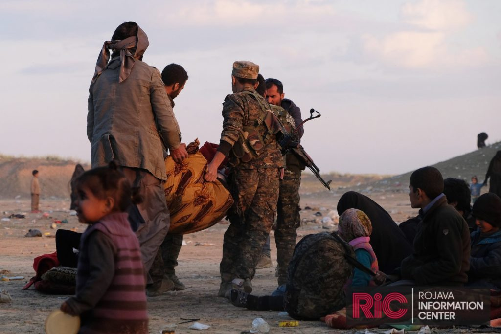 SDF evacuated ISIS fighters from Baghuz