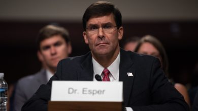 US Secretary of Defense Mark Esper