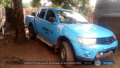 Damboa LGA vehicle captured by ISWAP