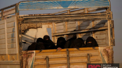 SDF evacuated ISIS fighters and their families