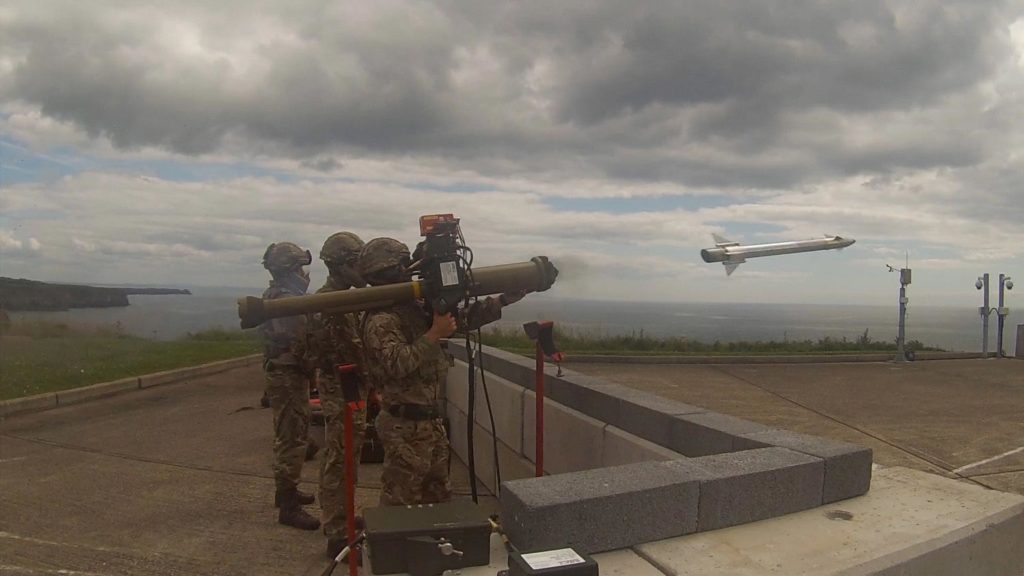 Royal Marines test Lightweight Multirole Missile