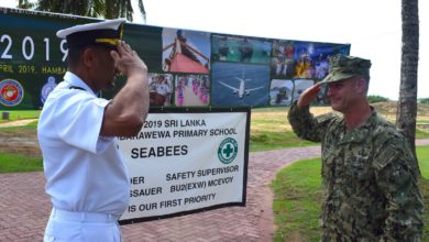 US and Sri Lanka Navy exercise