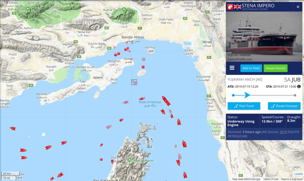 Stena Impero tanker seized by Iran