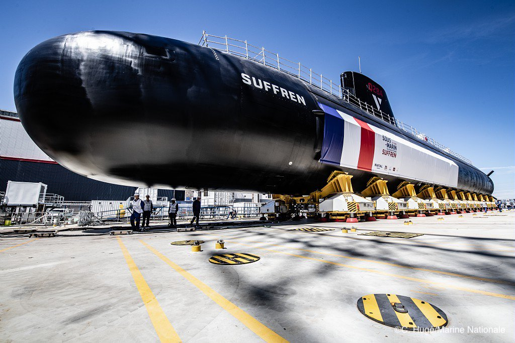 France Launches New Suffren Nuclear