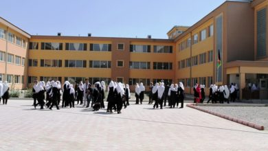 Sardar-e-Kabuli Girls High School in Kabul, Afghanista