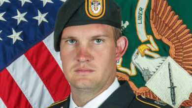 US Special Forces Soldier Sgt. 1st Class Dustin B. Ard