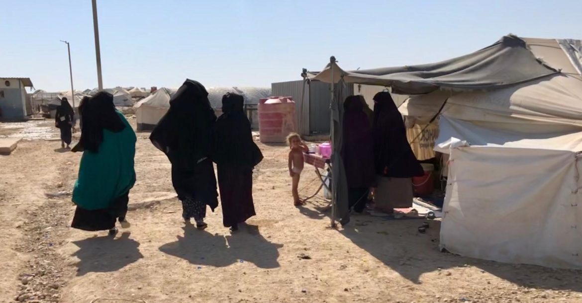 Women in al-Hol camp