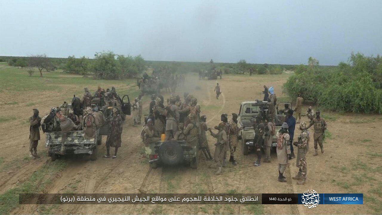 ISIS publishes images of ISWAP attack on Nigeria military base in Borno - The Defense Post