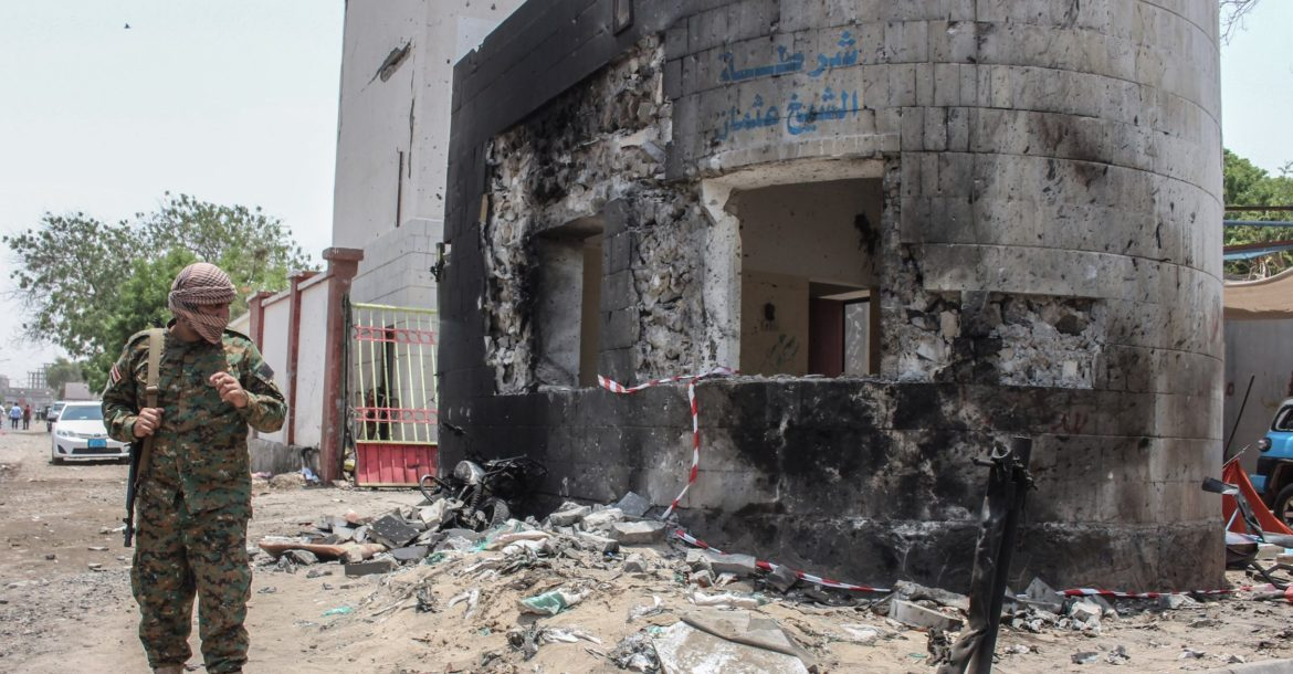 Attack in Aden, Yemen