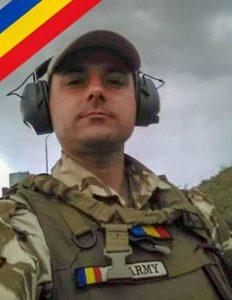 Romanian Army Corporal 3rd Class Ciprian-Ștefan Polschi was killed in Afghanistan