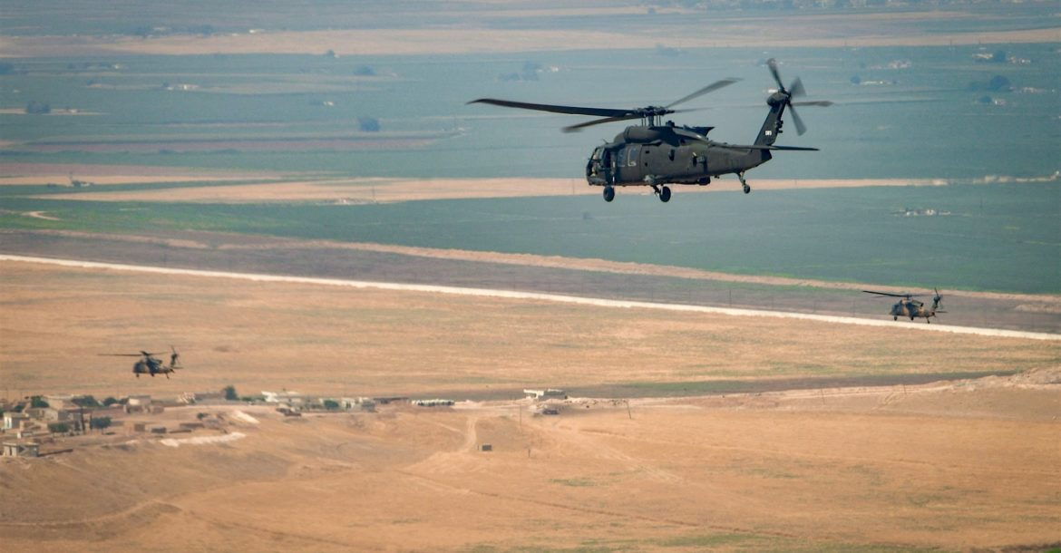 Joint US-Turkey air patrol over northeast Syria