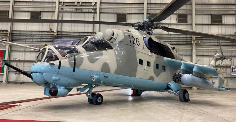 India gifts Mi-35/Mi-24V attack helicopters to Afghanistan