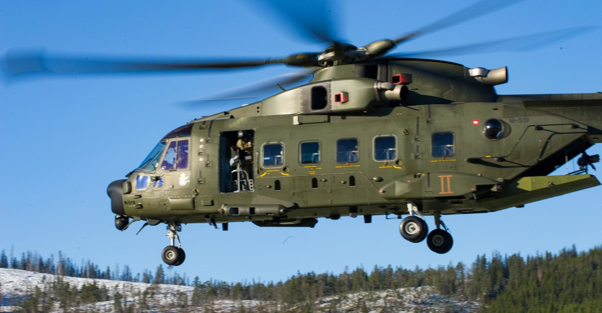 Danish EH-101 helicopter