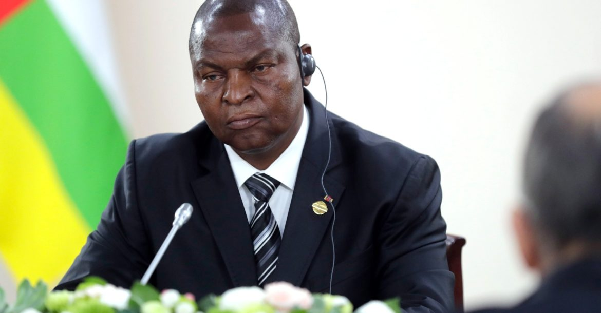 Central African Republic President Faustin-Archange Touadera