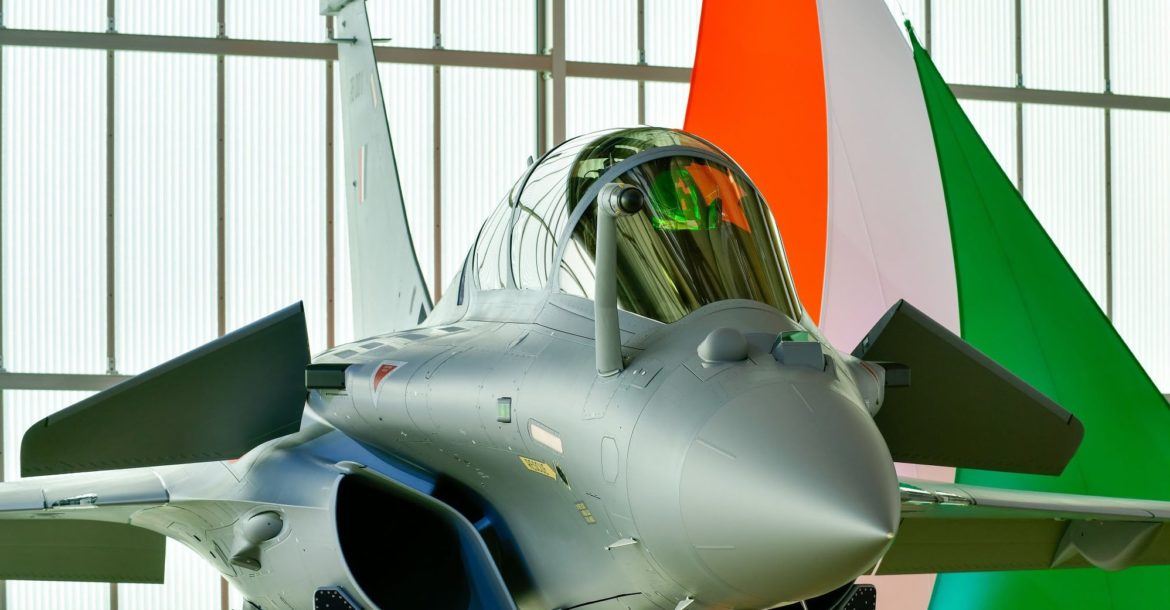 Indian Air Force Rafale fighter jet