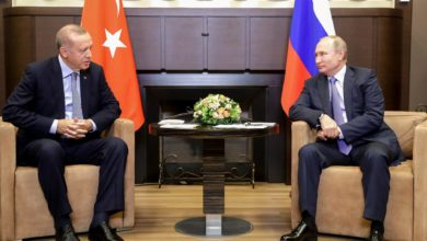 Erdogan and Putin meet on Syria