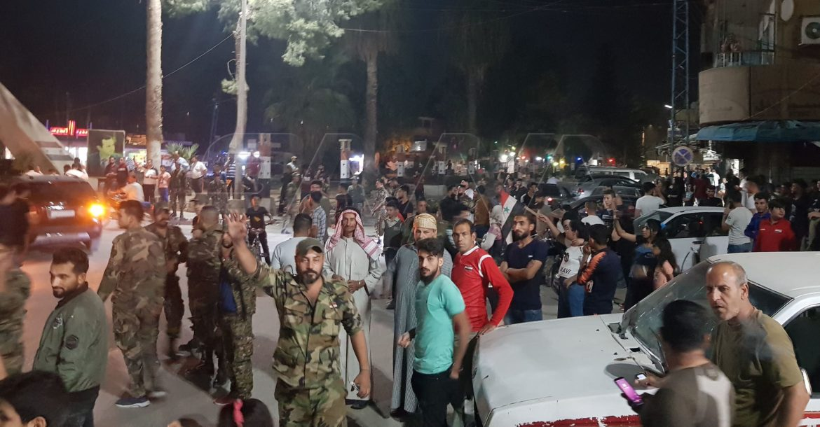 Syrian army in Hasakah