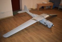 Russian Orlan-10 UAV in Ukraine