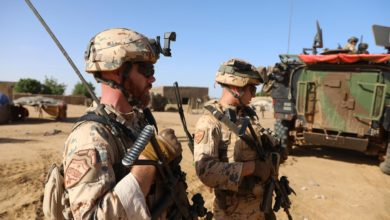 Estonia troops in Mali