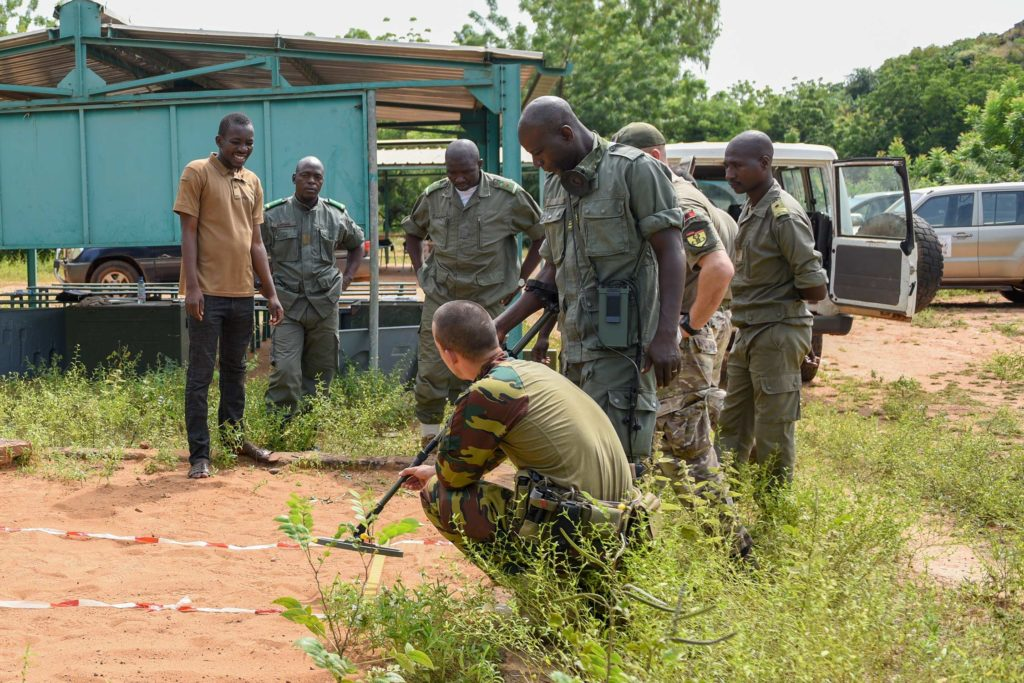 EUTM-Mali trains FAMa personnel