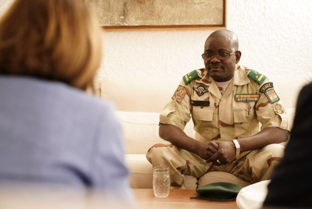 G5 Sahel Joint Force commander General Oumarou Namata from Niger