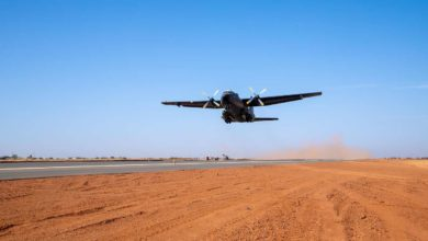 German C-160 inaugurates new Niamey runway