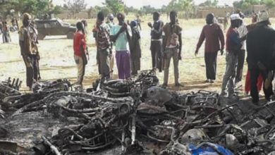 Motorcycles destroyed during joint Mali-Niger operation