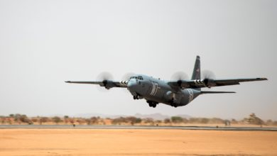 Limited flight operations begin at Nigerien Air Base 201