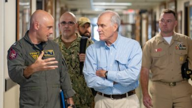 Secretary of the Navy Richard V. Spencer