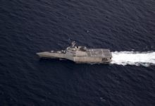 USS Gabrielle Giffords in the South China Sea