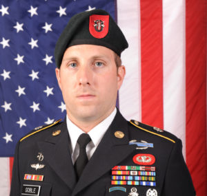 US Special Forces Soldier Sgt 1st Class Michael James Goble
