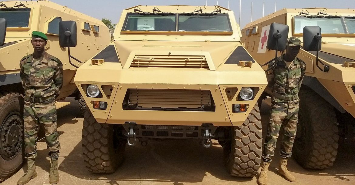 Arquus Bastion armored vehicles for Mali