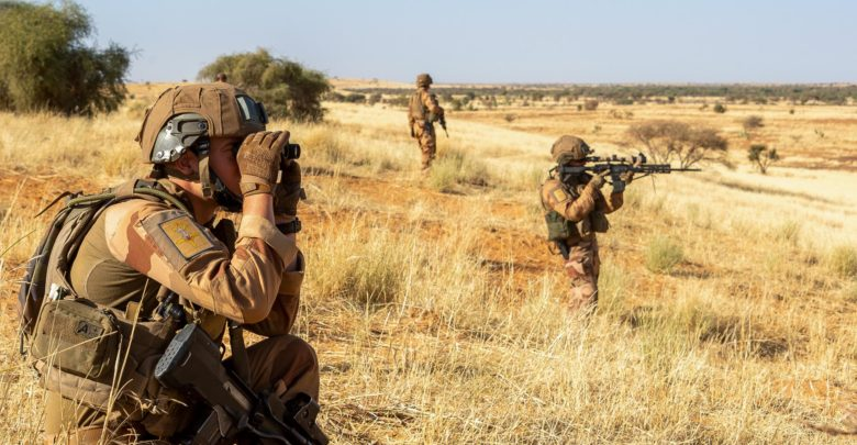 French soldiers deployed to Operation Barkhane in the Sahel