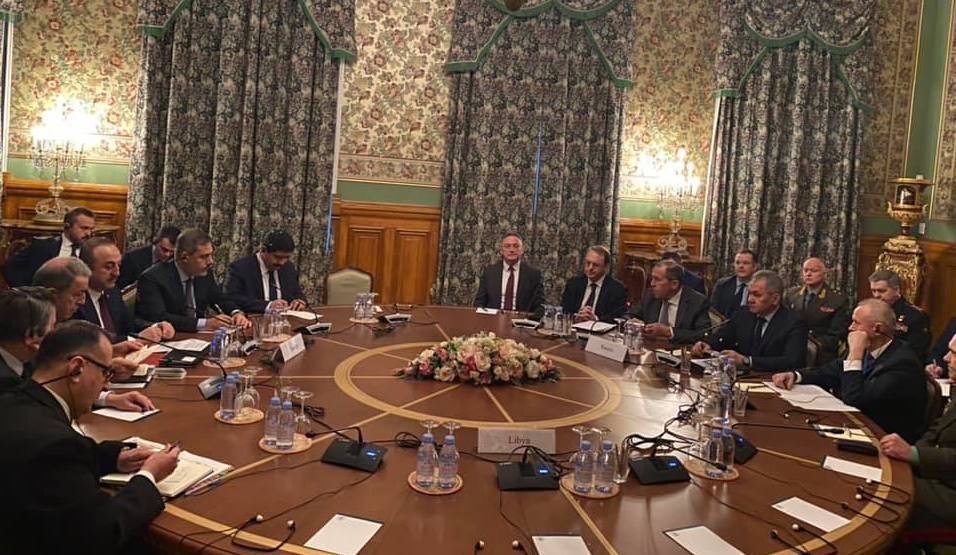 Libya talks in Moscow