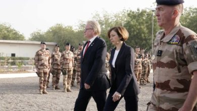 Hultqvist, Parly and Facon in Chad