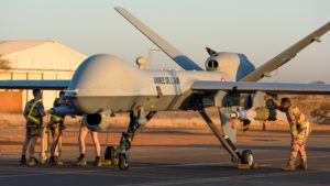 Armed Reaper drones support Operation Barkhane