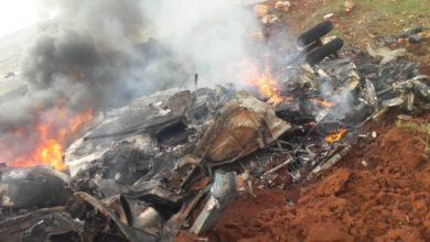 Syrian Air Force helicopter shot down in western Aleppo