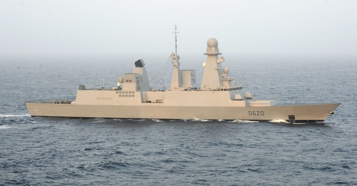 French frigate Forbin