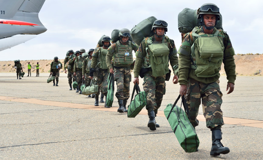 African Union field training exercise