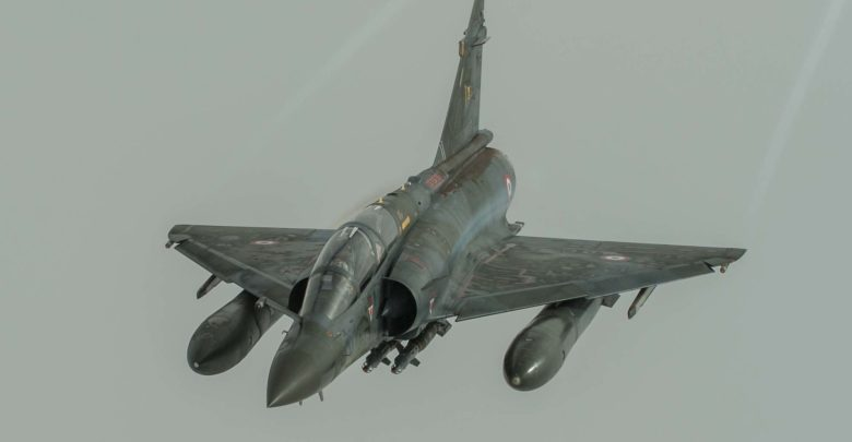 French Mirage 2000 fighter jet