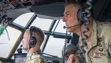 AFRICOM commander General Stephen Townsend in Somalia